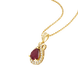 Mặt dây chuyền Vàng 18K đính đá Ruby PNJ RBXMY000544 1