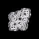 Nhẫn bạc đính đá màu đen PNJSilver Boho Dream ZTZTK000020