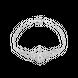 Lắc tay Kim cương Vàng trắng 14K PNJ DDDDW000260