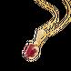 Mặt dây chuyền Vàng 18K đính đá Ruby PNJ RBXMY000545 1