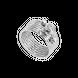 Nhẫn Vàng trắng Ý 18K PNJ 0000W001206