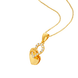 Mặt dây chuyền Vàng 18K đính đá CZ PNJ XM00Y000113
