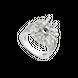 Vỏ nhẫn Kim cương Vàng trắng 18K PNJ 00DDW000672