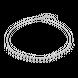 Dây cổ bạc đính đá STYLE By PNJ DNA XM00W000031