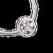 Hạt charm xỏ DIY PNJSilver hình dẹt tròn XMXMK060096