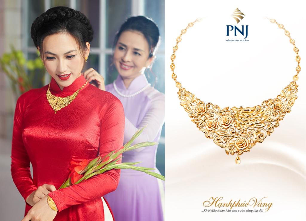 Chìm đắm cùng cung bậc yêu của Hạnh Phúc Vàng PNJ tại Marry Wedding 2018
