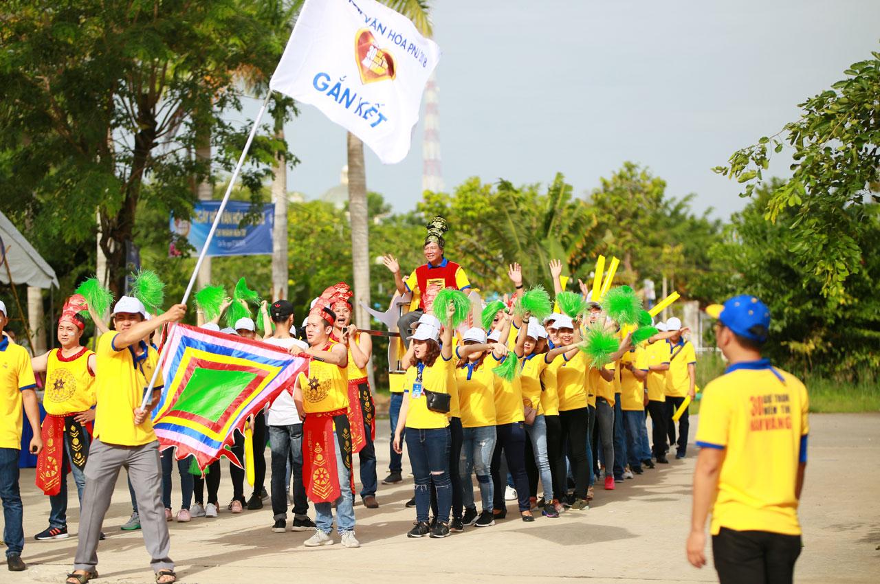 Sức nóng mãnh liệt của ngày hội văn hóa PNJ lan nhanh về chi nhánh Miền Tây