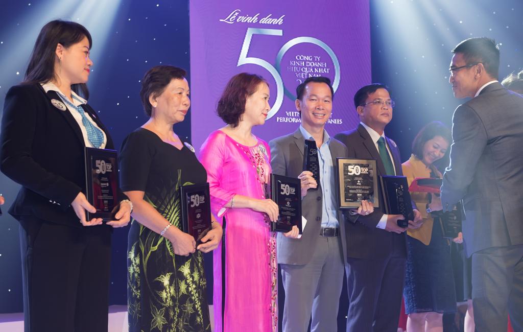 Tăng trưởng thần tốc, PNJ tiếp tục được vinh danh Top 50 Công Ty Kinh Doanh hiệu quả nhất Việt Nam