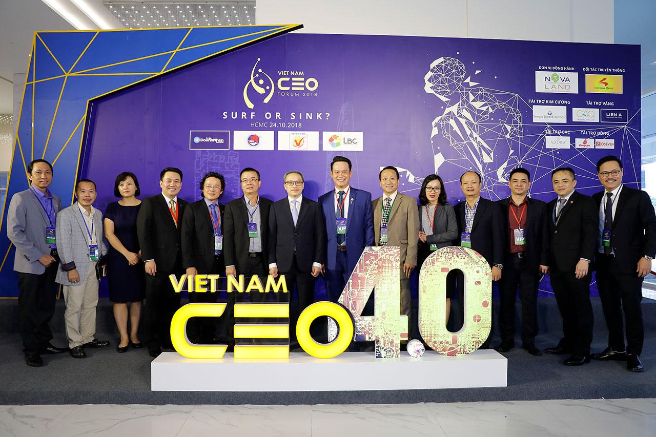 PNJ đồng hành cùng VietNam CEO forum 2018
