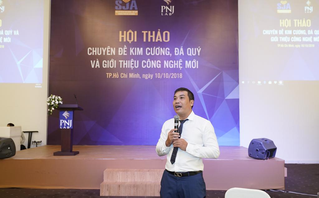 """Công ty kiểm định PNJLAB tổ chức hội thảo """" Chuyên đề kim cương, đá quý và giới thiệu công nghệ mới"""""""