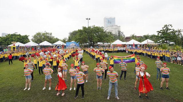 Ngày hội văn hóa là một trong những nét đặc trưng của PNJ.