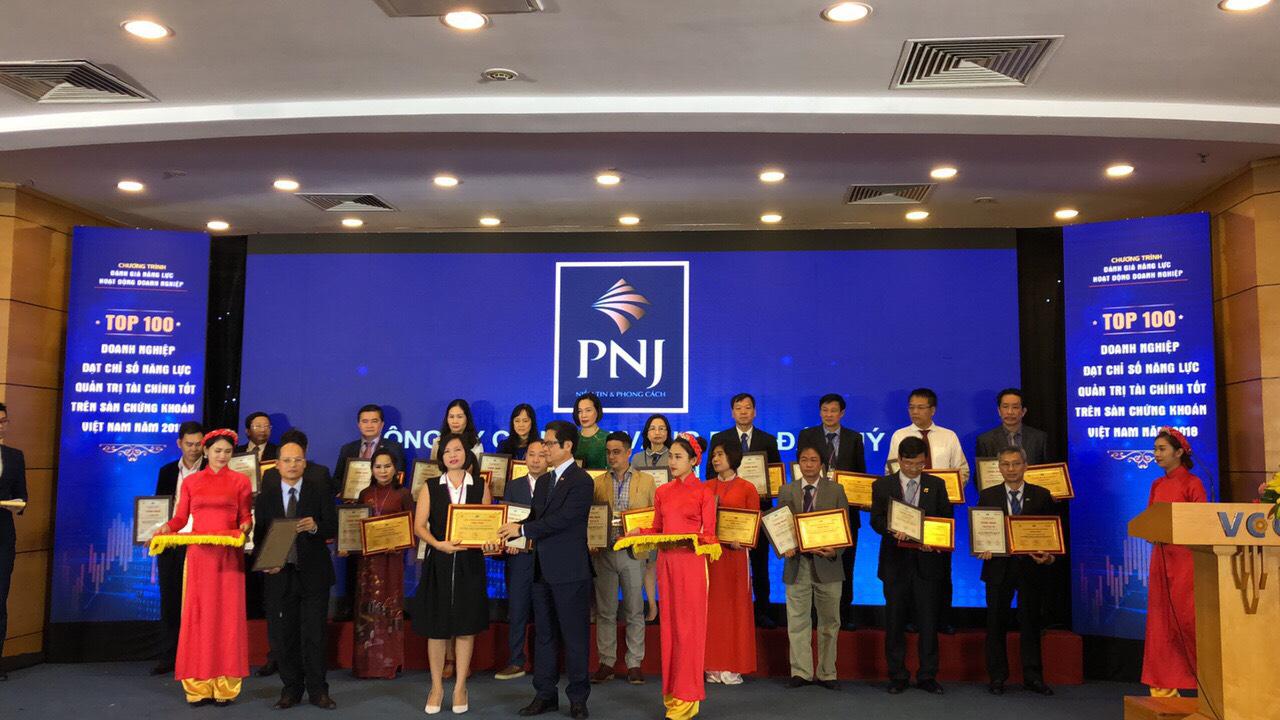 PNJ – doanh nghiệp quản trị tài chính xuất sắc trên sàn chứng khoán Việt Nam