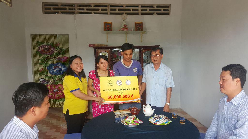 Mái ấm niềm tin đến với người nghèo tại tỉnh Vĩnh Long